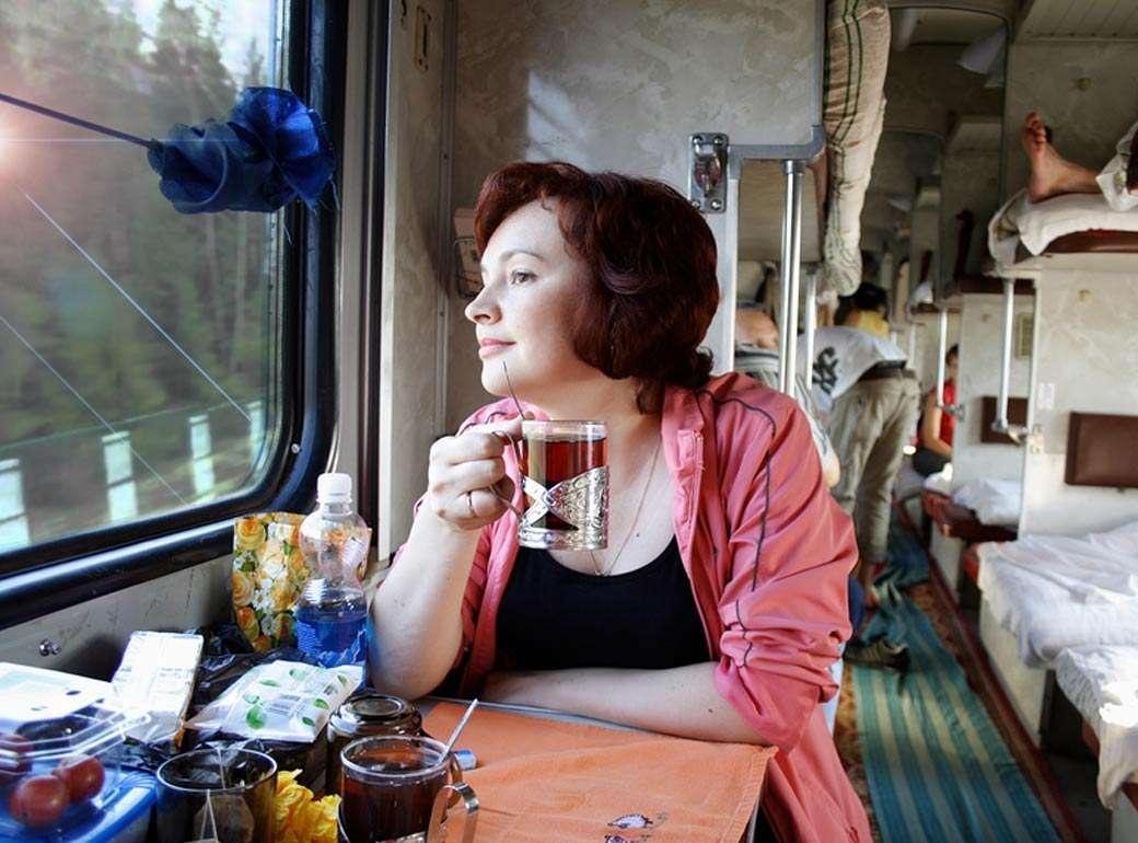 В Россию снова можно попасть на поезде